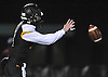 Bo Waters #3, St. Anthony's quarterback, takes a snap during the NYCHSFL Class AAA semifinals against Cardinal Hayes (Bronx) at St. Anthony's High School on Friday, Nov. 11, 2016.