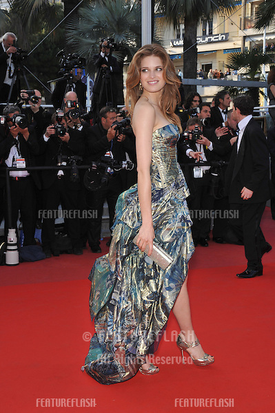 "Alessia Piovan at the premiere screening of ""Wall Street: Money Never Sleeps"" at the 63rd Festival de Cannes..May 14, 2010  Cannes, France.Picture: Paul Smith / Featureflash"