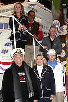 Love Boat Cast Decorates Rose Parade Float