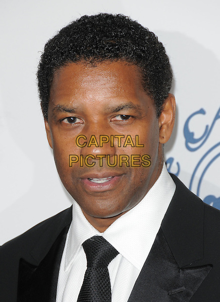 DENZEL WASHINGTON.attends The 30th Anniversary Carousel of Hope Ball Presented by Mercedes-Benz held at The Beverly Hilton Hotel in Beverly Hills, California, USA,.October 25th 2008..portrait headshot black tie .CAP/DVS.©Debbie VanStory/Capital Pictures