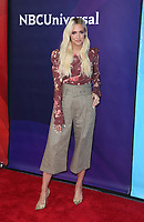 UNIVERSAL CITY, CA - MAY 2: Ashlee Simpson, at the 2018 NBCUniversal Summer Press Day at Universal Studios Backlot in Universal City, California on May 2, 2018. Credit: Faye Sadou/MediaPunch