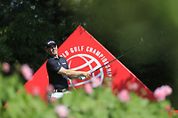 Paul Waring (ENG) on the 2nd tee during the 2nd round of the WGC HSBC Champions, Sheshan Golf Club, Shanghai, China. 01/11/2019.<br /> Picture Fran Caffrey / Golffile.ie<br /> <br /> All photo usage must carry mandatory copyright credit (© Golffile   Fran Caffrey)