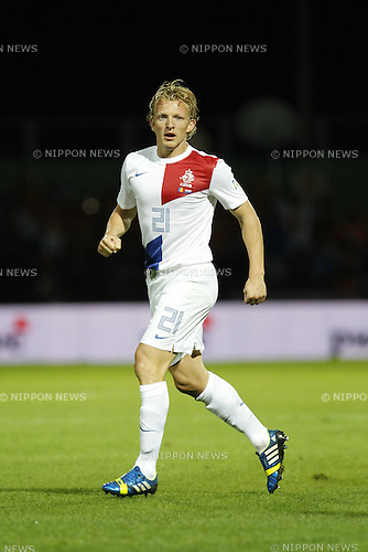 Dirk Kuyt (NED), SEPTEMBER 10, 2013 - Football / Soccer : FIFA World Cup 2014 Qualifying round match between Andorra and Netherlands, at the Estadi Comunal, Andorra la Vella, Andorra, September 10, 2013. (Photo by AFLO) [3604]
