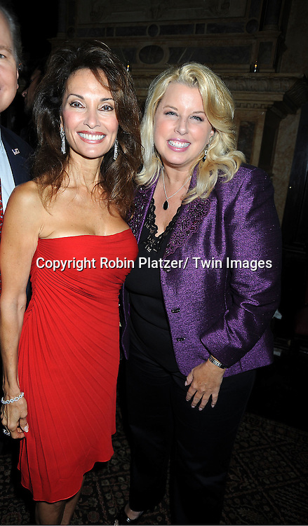 """Susan Lucci and Rita Cosby at her book signing for her new book """"All My Life""""  at The Friars Club in New York City on September 7, 2011."""