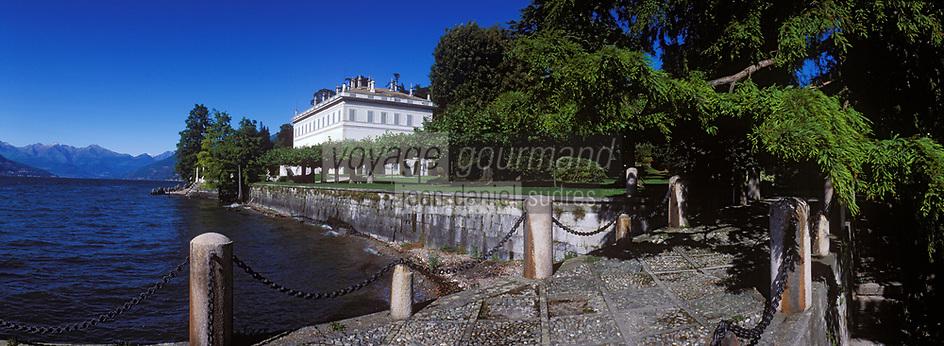 Europe/Italie/Lac de Come/Lombardie/Bellagio : Villa Melzi