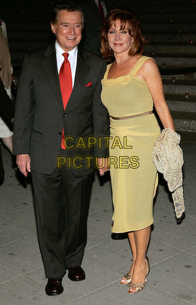 REGIS PHILIBIN & JOY PHILIBIN.Arrivals at the Vanity Fair Party during the .5th Annual Tribeca Film Festival, New York, NY, .USA, 26 April 2006..full length married husband wife .Ref: ADM/JL.www.capitalpictures.com.sales@capitalpictures.com.©Jackson Lee/AdMedia/Capital Pictures.