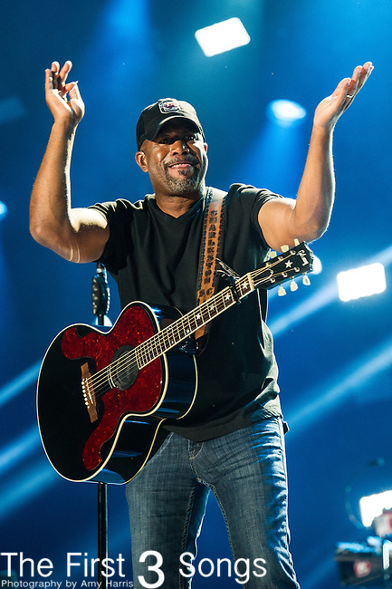 Darius Rucker performs at LP Field during Day Three of the 2014 CMA Music Festival in Nashville, Tennessee.