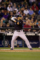 May 19, 2010: Toronto Blue Jays' Alex Gonzalez (11) at-bat during a game against the Seattle Mariners at Safeco Field in Seattle, Washington.