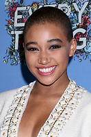 "LOS ANGELES - MAY 6:  Amandla Stenberg at the ""Everything, Everything"" Premiere on the TCL Chinese 6 Theater on May 6, 2017 in Los Angeles, CA"