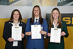 Girls Swimming finalists Hayley Palmer, Penelope Marshall & Jessie Blundell. ASB College Sport Young Sportperson of the Year Awards 2007 held at Eden Park on November 15th, 2007.