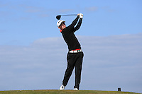Sam Wilkinson during Round Two of the West of England Championship 2016, at Royal North Devon Golf Club, Westward Ho!, Devon  23/04/2016. Picture: Golffile | David Lloyd<br /> <br /> All photos usage must carry mandatory copyright credit (&copy; Golffile | David Lloyd)
