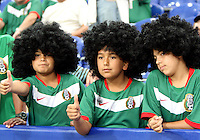 Young Mexican fans. Portugal defeated Mexico 2-1 in their FIFA World Cup Group D match at FIFA World Cup Stadium, Gelsenkirchen, Germany, June 21, 2006.