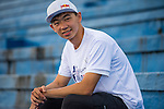 Ambassador poses for a portrait ahead at the Wings for Life World Run on May 3, 2015 in Yilan, Taiwan. Photo by Aitor Alcalde / Power Sport Images