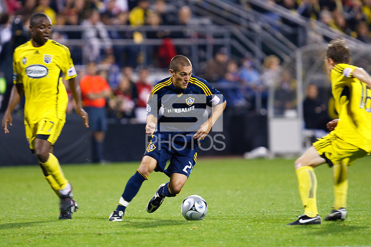26 SEPTEMBAR 2009:  #27 Bryan Jordan of the LA Galaxy during the Los Angeles Galaxy at Columbus Crew MLS game in Columbus, Ohio on May 27, 2009. Columbus defeated LA 2-0