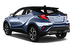 Car pictures of rear three quarter view of a 2020 Toyota C-HR Club 5 Door SUV angular rear