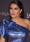 LOS ANGELES, CA - NOVEMBER 04: Actor Salma Hayek attends the 2017 LACMA Art + Film Gala Honoring Mark Bradford and George Lucas presented by Gucci at LACMA on November 4, 2017 in Los Angeles, California.