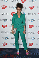 Andreya Triana<br /> at The Ivor Novello Awards 2017, Grosvenor House Hotel, London. <br /> <br /> <br /> &copy;Ash Knotek  D3267  18/05/2017