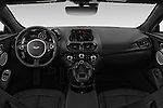 Stock photo of straight dashboard view of 2018 Aston Martin Vantage - 2 Door Coupe Dashboard