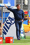 Hamburgs Trainer Dieter Hecking beim Spiel Hamburger SV gegen den  SV Sandhausen in Hamburg / 280620<br /><br />*** Football - nph00001,  2. Bundesliga: Hamburg SV vs SV Sandhausen, Hamburg, Germany - 28 Jun 2020 ***<br /><br />Only for editorial use. (DFL/DFB REGULATIONS PROHIBIT ANY USE OF PHOTOGRAPHS as IMAGE SEQUENCES and/or QUASI-VIDEO)<br />FOTO: Ibrahim Ot/action press/POOL/nordphoto *** Local Caption *** [4::31065099]