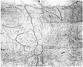 Map of Mears toll roads.<br /> RGS  Map of Colorado, CO  1886