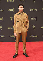 LOS ANGELES - SEPTEMBER 15: Marcus Scribner attends the 2019 Creative Arts Emmy Awards at the Microsoft Theatre LA Live on September 15, 2019 in Los Angeles, California. (Photo by Scott Kirkland/PictureGroup)