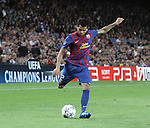 UEFA Champions League, Spain, Camp Nou, FC Barcelona v Viktoria Plzen. Picture show Dani Alves