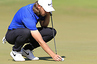 Tommy Fleetwood (ENG) on the 10th green during Sunday's Final Round of the 2018 Turkish Airlines Open hosted by Regnum Carya Golf &amp; Spa Resort, Antalya, Turkey. 4th November 2018.<br /> Picture: Eoin Clarke | Golffile<br /> <br /> <br /> All photos usage must carry mandatory copyright credit (&copy; Golffile | Eoin Clarke)
