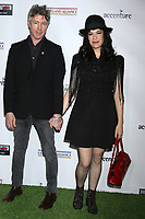 LOS ANGELES - FEB 21:  Aidan Gillen, Camille O'Sullivan at the 2019 Oscar Wilde Awards at the Bad Robot on February 21, 2019 in Santa Monica, CA
