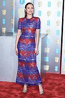 Olga Kurylenko<br /> arriving for the BAFTA Film Awards 2019 at the Royal Albert Hall, London<br /> <br /> ©Ash Knotek  D3478  10/02/2019