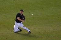 Oct 12, 2007; Phoenix, AZ, USA; Arizona Diamondbacks shortstop (6) Stephen Drew throws to first in the fourth inning against the Colorado Rockies during game 2 of the 2007 National League Championship Series at Chase Field. Mandatory Credit: Mark J. Rebilas-US PRESSWIRE