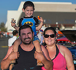 Ruth, Silvio and 3 year old Nathan enjoy Hot August Nights at the Grand Sierra Resort on Tuesday, August 2, 2016.