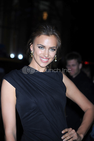 Irina Shayk at the New York Premiere of 'The Conspirator' at The Museum of Modern Art in New York City. April 11, 2011. Credit: Dennis Van Tine/MediaPunch