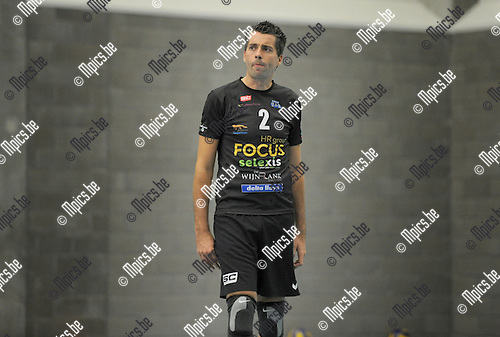 2014-08-30 / Volleybal / seizoen 2014-2015 / Vosselaar / Tom Lemmens<br />
