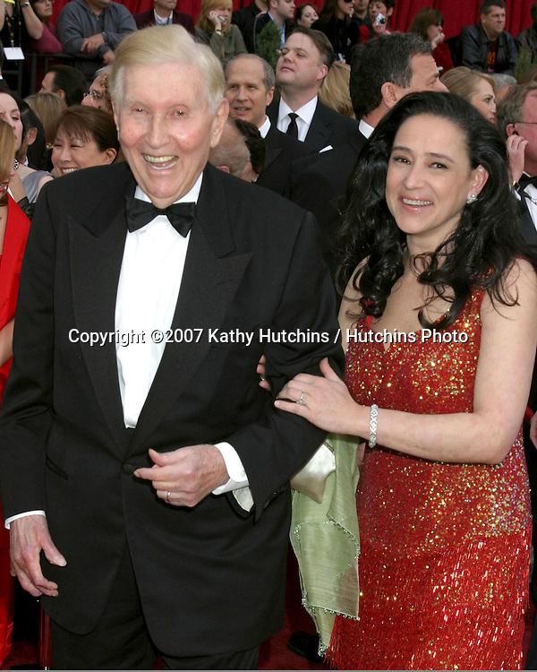 Sumner Redstone.79th Annual Academy Awards.Kodak Theater .Hollywood & Highland.Hollywood, CA.February 25, 2007.©2007 Kathy Hutchins / Hutchins Photo....