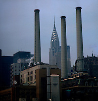Series of images from New York between 1975 -1977. New York,USA.