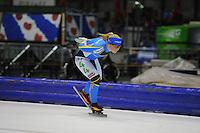 SCHAATSEN: HEERENVEEN: 25-10-2014, IJsstadion Thialf, Marathonschaatsen, KPN Marathon Cup 2, Yvonne Spigt (#44), ©foto Martin de Jong