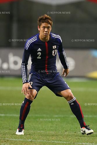 Masahiko Inoha (JPN), .FEBRUARY 6, 2013 - Football / Soccer : .KIRIN Challenge Cup 2013 Match between Japan 3-0 Latvia .at Home's Stadium Kobe in Hyogo, Japan. .(Photo by Akihiro Sugimoto/AFLO SPORT)