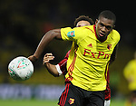 Watford's Christian Kabasele in action during the Carabao cup match at Vicarage Road Stadium, Watford. Picture date 22nd August 2017. Picture credit should read: David Klein/Sportimage