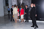 13.09.2012. Queen Sofia of Spain attends the exhibition opening ´Gyenes. Master Photographer´ in the National Library of Spain. In the image Queen Sofia of Spain (Alterphotos/Marta Gonzalez)