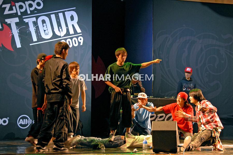 Apresentação de dança hip hop em Seul. Coréia do Sul. 2009. Foto de Thaïs Falcão.