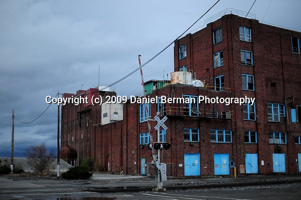 Photos of the unused Bellingham industrial waterfront area Thursday November 19, 2009. Photo by Daniel Berman/www.bermanphotos.com
