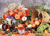 Interlitho, Helga, FLOWERS, photos, basket, fruit(KL15856,#F#)