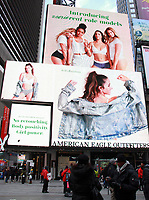 NEW YORK, NY February 2: View of Aerie Times Square in New York City on February 2, 2018. <br /> CAP/MPI/RW<br /> &copy;RW/MPI/Capital Pictures