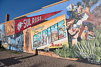 Alpine Mural with Sul Ross