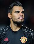 Sergio Romero of Manchester United during the UEFA Europa League match at Old Trafford, Manchester. Picture date: November 24th 2016. Pic Matt McNulty/Sportimage