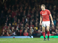 Wales' Liam Williams<br /> <br /> Photographer Simon King/CameraSport<br /> <br /> International Rugby Union - 2017 Under Armour Series Autumn Internationals - Wales v Australia - Saturday 11th November 2017 - Principality Stadium - Cardiff<br /> <br /> World Copyright &copy; 2017 CameraSport. All rights reserved. 43 Linden Ave. Countesthorpe. Leicester. England. LE8 5PG - Tel: +44 (0) 116 277 4147 - admin@camerasport.com - www.camerasport.com