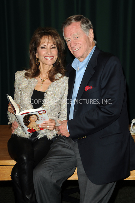 WWW.ACEPIXS.COM . . . . . ....April 12 2011, Los Angeles....Actress Susan Lucci (L) and husband Helmut Hubert at a signing for her book 'All My Life' at Barnes & Noble at The Americana on April 12, 2011 in Glendale, CA ....Please byline: PETER WEST - ACEPIXS.COM....Ace Pictures, Inc:  ..(212) 243-8787 or (646) 679 0430..e-mail: picturedesk@acepixs.com..web: http://www.acepixs.com