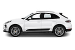 Car driver side profile view of a 2019 Porsche Macan Base 5 Door SUV