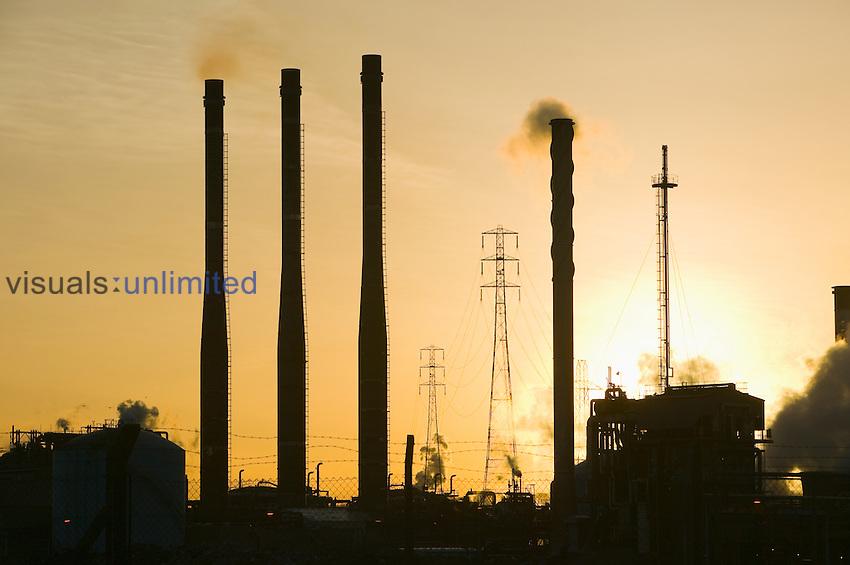Petrochemical plant, Teeside, United Kingdom.