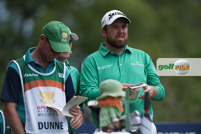 Shane Lowry (IRL) during the final round of the World Cup of golf,  The Metropolitan Golf Club, The Metropolitan Golf Club, Victoria, Australia. 25/11/2018<br /> Picture: Golffile | Anthony Powter<br /> <br /> <br /> All photo usage must carry mandatory copyright credit (© Golffile | Anthony Powter)